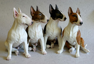 English Bull Terriers